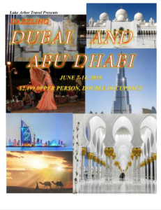 Dubai and Abu Dhabi Itinerary